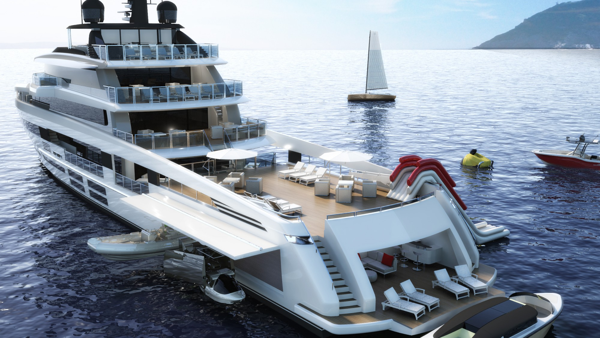 Oceanemo 55 The Biggest Of The Sport Utility Yacht Series Apsa